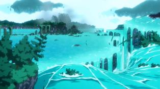 Does this place float on forever in dimension W?