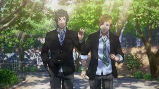 Brotherhood FFXV - 02 - 20 Teenage Noctis and Prompto